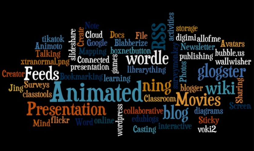 a wordle about web 2.0